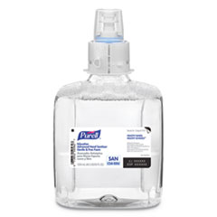 PURELL® Education Advanced Hand Sanitizer Gentle and Free Foam, 1200 mL Refill, 3/Carton