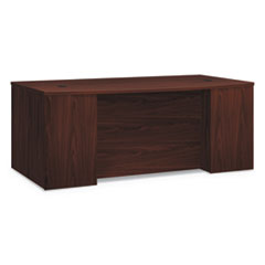 HON® Foundation™ Breakfront Desk Shell Bow Front Thumbnail
