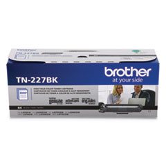 Brother TN227BK High-Yield Toner, 3,000 Page-Yield, Black