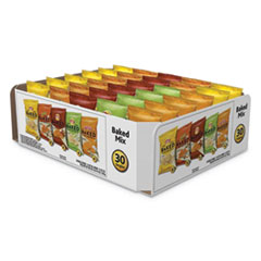 Frito-Lay Baked Variety Pack, BBQ/Crunchy/Cheddar & Sour Cream/Classic/Sour Cream & Onion, 30/Box