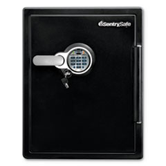 Sentry® Safe Water-Resistant Fire-Safe® with Biometric, Digital Keypad & Key Access
