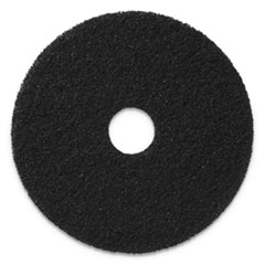 "Americo® Stripping Pads, 19"" Diameter, Black, 5/CT"