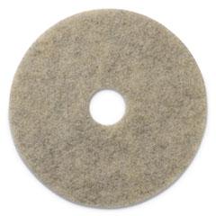 "Americo® Porko Plus Burnishing Pads, 27"" Diameter, Grayish Black, 2/CT"