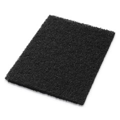 Americo® Stripping Pads, 14w x 20h, Black, 5/CT