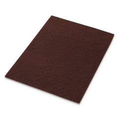 Americo® EcoPrep EPP Specialty Pads, 20w x 14h, Maroon, 10/CT