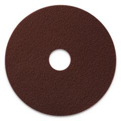 "Americo® EcoPrep EPP Specialty Pads, 20"" Diameter, Maroon, 10/CT"