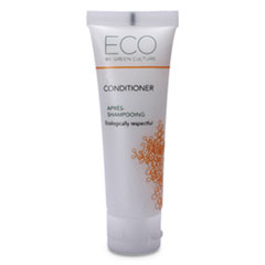 Eco By Green Culture Condtioner, Clean Scent, 30mL, 288/Carton