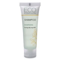 Eco By Green Culture Shampoo, Clean Scent, 30mL, 288/Carton