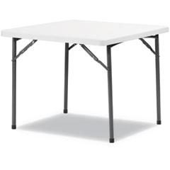 Alera® Square Plastic Folding Table Thumbnail