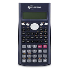 Innovera® 15969 Scientific Calculator, 240 Functions, 10-Digit LCD, Two Display Lines