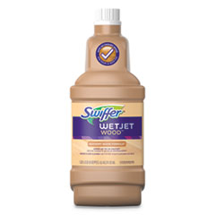 Swiffer® WetJet System Cleaning-Solution Refill, Blossom Breeze Scent, 4/Carton