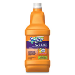 Swiffer® WetJet System Cleaning-Solution Refill, Citrus Scent, 1.25 L Bottle, 4/Carton