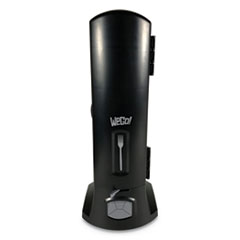 "WeGo Dispenser, 10.22"" x 12 1/2"" x 23 3/4"" Black"