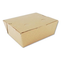 SCT® ChampPak Retro Carryout Boxes #8, 6 x 4.75 x 2.5, Kraft, 300/Carton