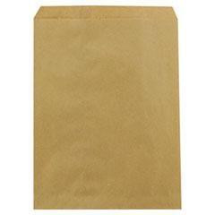 """Duro Bag Kraft Paper Bags, 8.5"""" x 11"""", Brown, 2,000/Carton"""