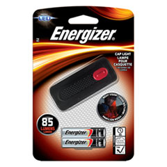 Energizer® Cap Light, 2 AAA Batteries (Included), Black