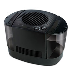 "Honeywell Top Fill Console Cool Mist Humidifier, 3 gal, 12.3"" x 13.6"" x 13.1"", Black"