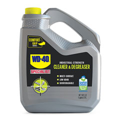 WD-40® Specialist Industrial Strength Cleaner and Degreaser, 128 oz Bottle, 4/Carton
