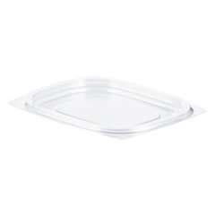 Dart® ClearPac Clear Container Lids, 4.1 x 4.9, Clear, 1,008/Carton