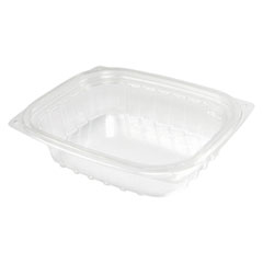 Dart® ClearPac Clear Container, 8 oz, 5.9 x 4.9 x 1.3, Clear, 1008/Carton