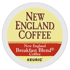 New England® Coffee Breakfast Blend K-Cup Pods, 24/Box