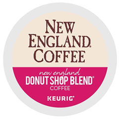 New England® Coffee Donut Shop Blend K-Cup Pods, 24/Box