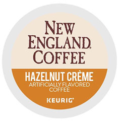 New England® Coffee Hazelnut Creme K-Cup Pods, 24/Box