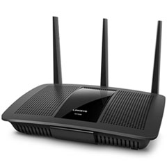 LINKSYS™ Max-Stream AC1900 Dual-Band Wi-Fi Router, 5 Ports, 2.4/5GHz