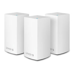 LINKSYS™ VELOP AC3900 Whole Home Mesh WiFi Dual Band, 1 Port, 2.4GHz/5GHz