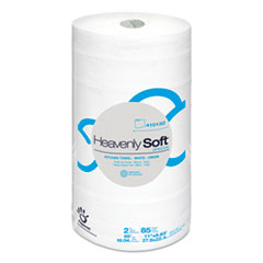"""Papernet® Heavenly Soft Kitchen Paper Towel, Special, 11"""" x 8.8"""", White, 85/Roll, 30 Rolls/Carton"""