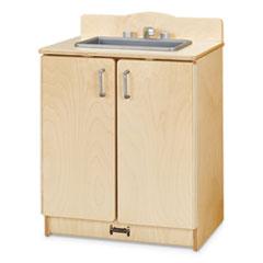 Culinary Creations Birch Kitchen, Sink, 20w x 15d x 27h, Birch