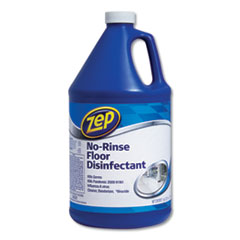 Zep Commercial® No-Rinse Floor Disinfectant, Pleasant Scent, 1 gal, 4/Carton