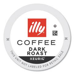 illy® Coffee K-Cup Pods, Dark, 20/Box