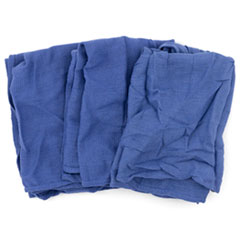 HOSPECO® Reclaimed Surgical Huck Towel, Blue, 25 Towels/Carton