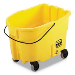 WaveBrake 2.0 Bucket, 26 qt, Plastic, Yellow