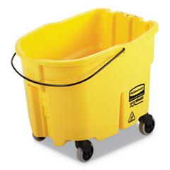 Rubbermaid® Commercial WaveBrake 2.0 Bucket, 8.75 gal, Plastic, Yellow