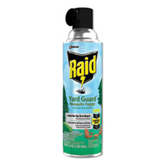 Raid® Yard Guard Fogger, 16 oz, Aerosol, 12/Carton