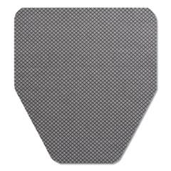 TOLCO® Komodo Urinal Mat, 18 x 20, Gray, 6/Carton