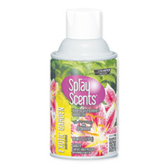 Chase Products Sprayscents Metered Air Fresheners, Exotic Garden Scent, 7 oz, 12/Carton