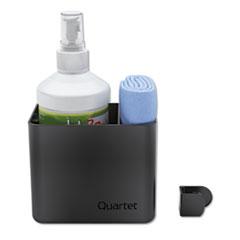 Quartet® Prestige 2 Connects Cleaning Dry-Erase Kit, Caddy, 16 oz Bottle/Magnetic Cloth