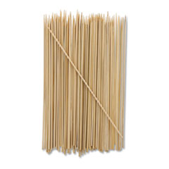 "AmerCareRoyal® Bamboo Skewer, Cream, 8"", 19200/Carton"