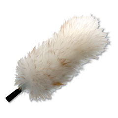 "Unger® StarDuster Lambswool Duster, 15"" Handle, 6/Carton"