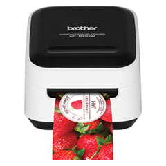 Brother VC500W Versatile Compact Color Label and Photo Printer with Wireless Networking