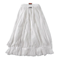 Rubbermaid® Commercial Disposable Mop, Nonwoven Fiber, No. 20, White