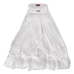 Rubbermaid® Commercial Disposable Mop, Nonwoven Fiber, #20, White