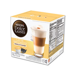 NESCAFÉ® Dolce Gusto® Capsules, Vanilla Latte Macchiato, 48/Carton