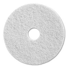 "Diversey™ Twister Floor Pad, 20"" Diameter, White, 2/Carton"