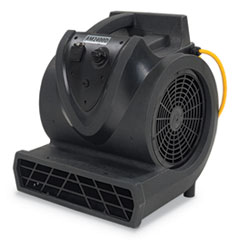 Clarke® 3-Speed Air Mover, 2400 cfm, Black, 21 ft Cord