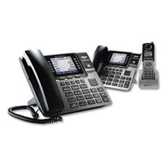 RCA® Unison 1-4 Line Wireless Phone System Bundle, w/ 1 Deskphone, 1 Cordless Handset
