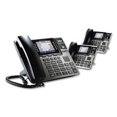 RCA® Unison 1-4 Line Wireless Phone System Bundle, 2 Additional Deskphones